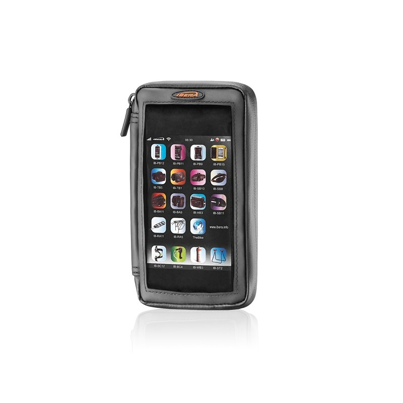 Ibera Phone Wallet For 5-5.8 Inch Screen (Bar Clamp Q6) IB-PB23Q6