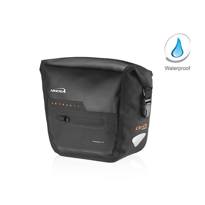Ibera Waterproof Handlebar Bag Black IB-HB9