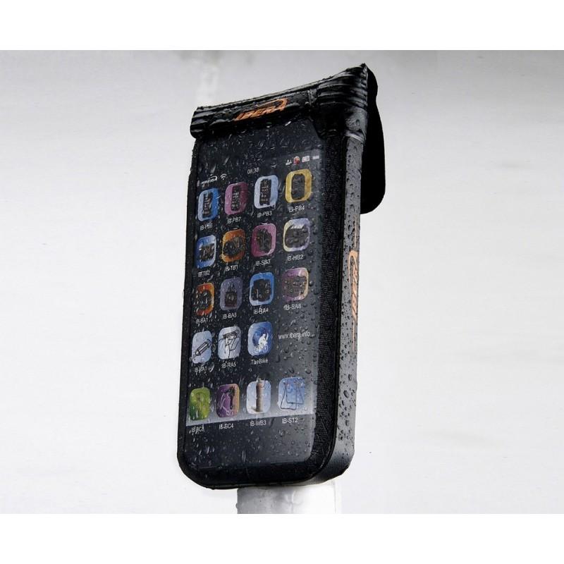 Ibera Waterproof iPhone 5 Case 3.5-4 inch Black IB-PB11Q4