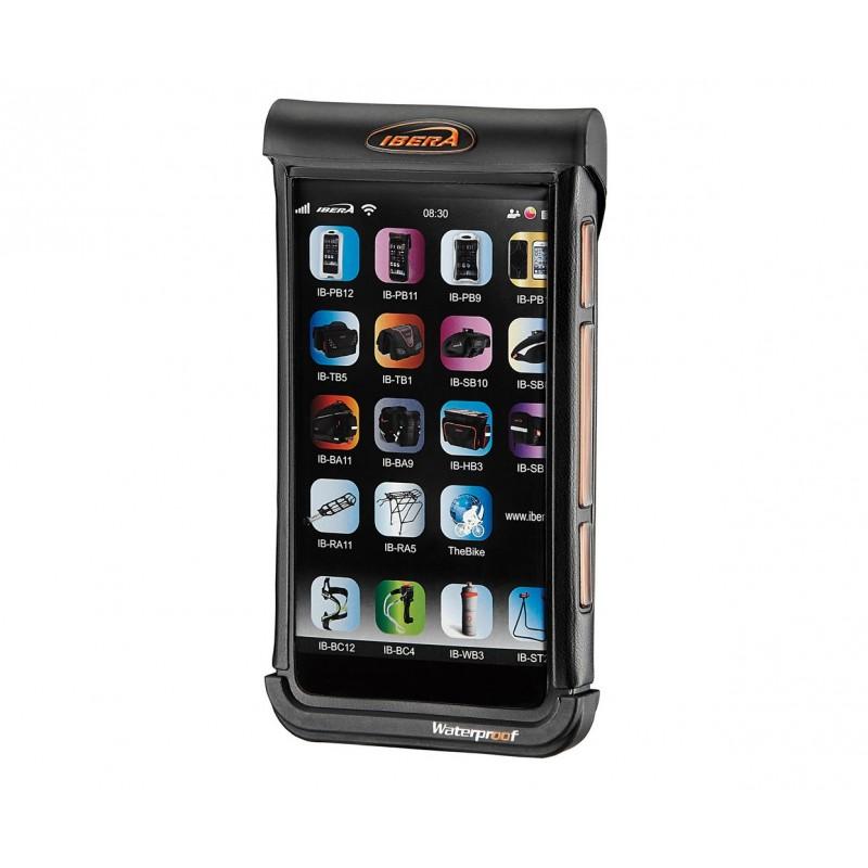Ibera Waterproof Phone Case 4-5 inch Black-White IB-PB21Q5