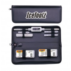 IceToolz Complete Tap Set with Handle & Storage Pouch