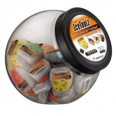 IceToolz Glueless patch set AirDam 50 sets in Jar