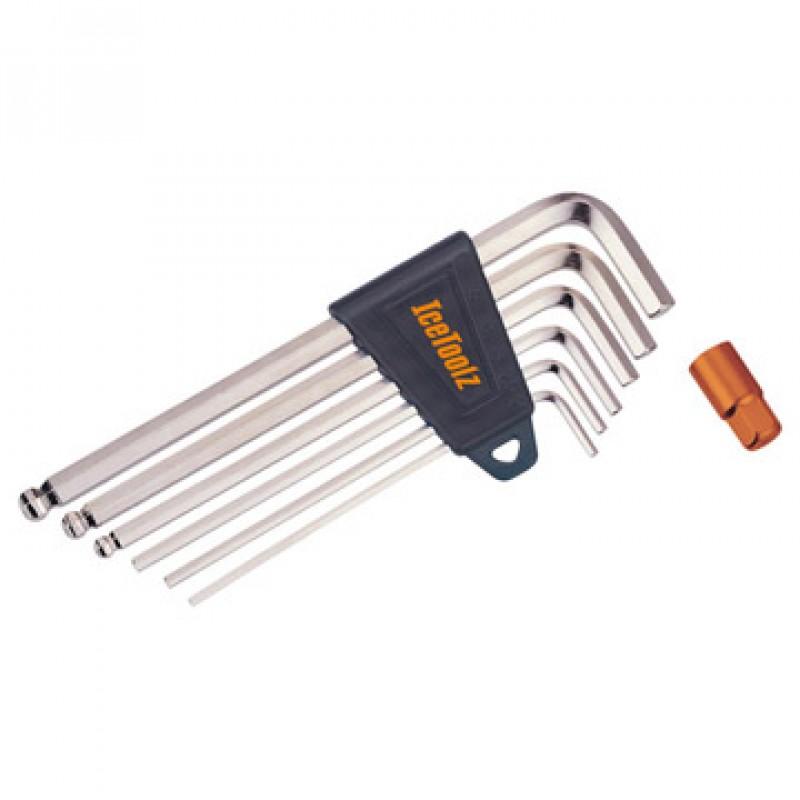 IceToolz Hex Key Wrench Set 36Q1