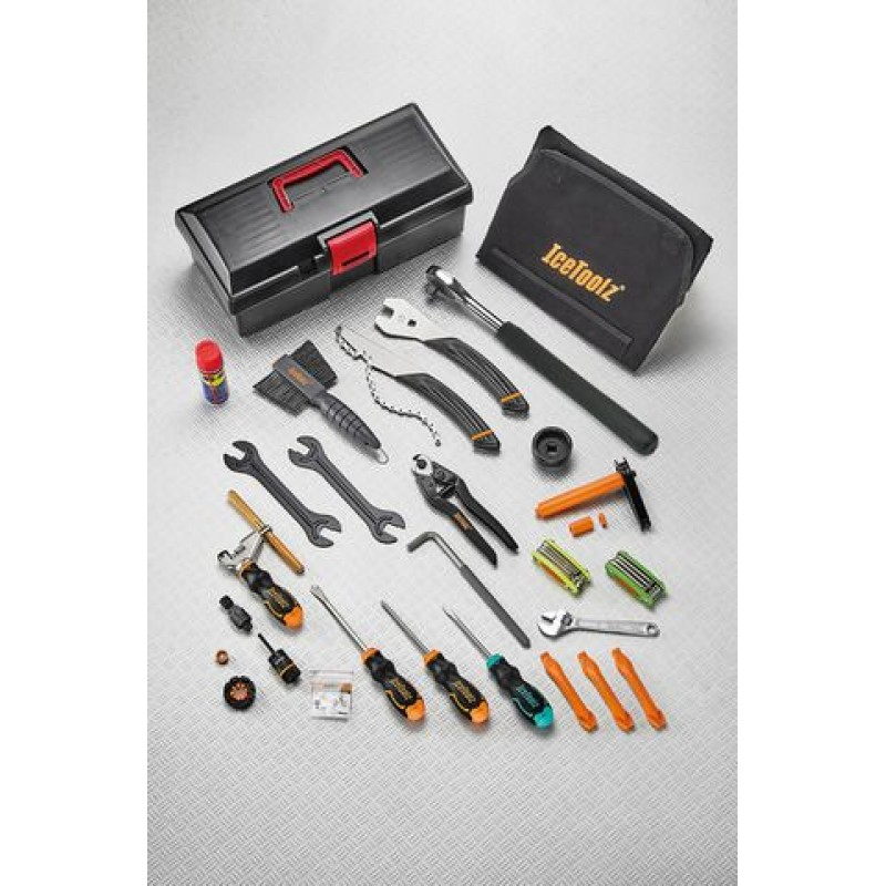 IceToolz Pro shop mechanic tool kit Box