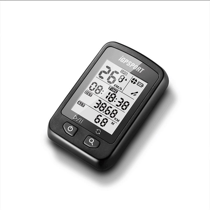 IGPSPORT Wireless Cycling Computer Black (iGS20E)