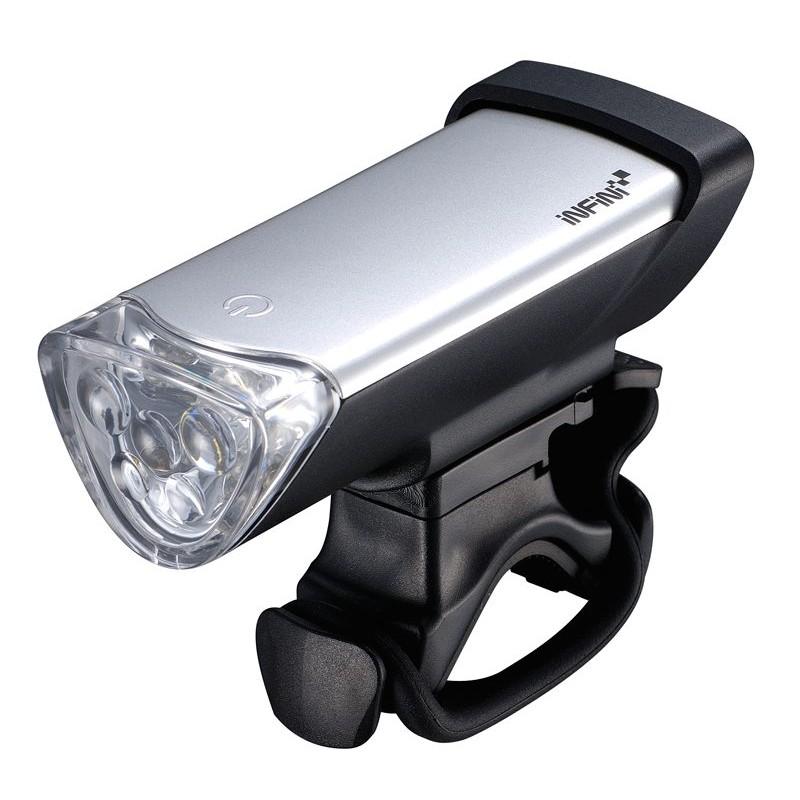 Infini Luxo Cycle Head Light Silver I-105W