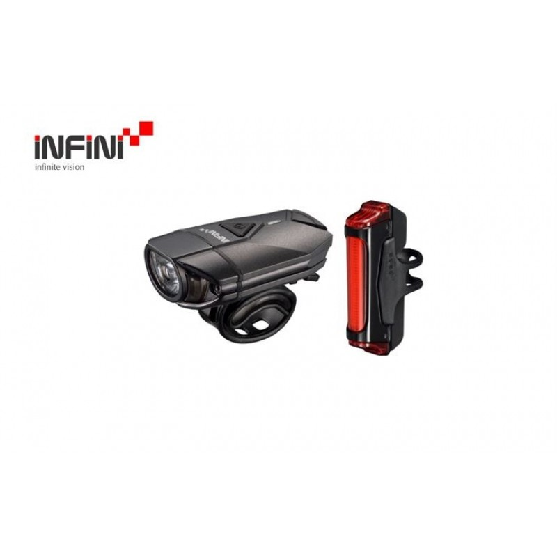 Infini Super Lava Cycle And Sword Front & Rear Light