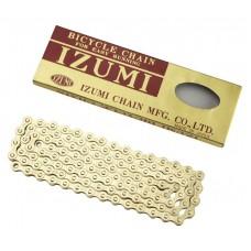 Izumi 1/2 X 1/8 Standard 116L Chain Gold