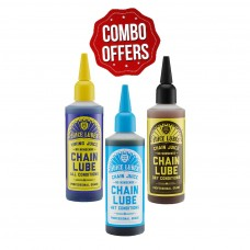 Juice Lubes Chain Oil Pack-Viking Juice, Chain Juice Dry, Chain Juice Wet (Pack Of 3)