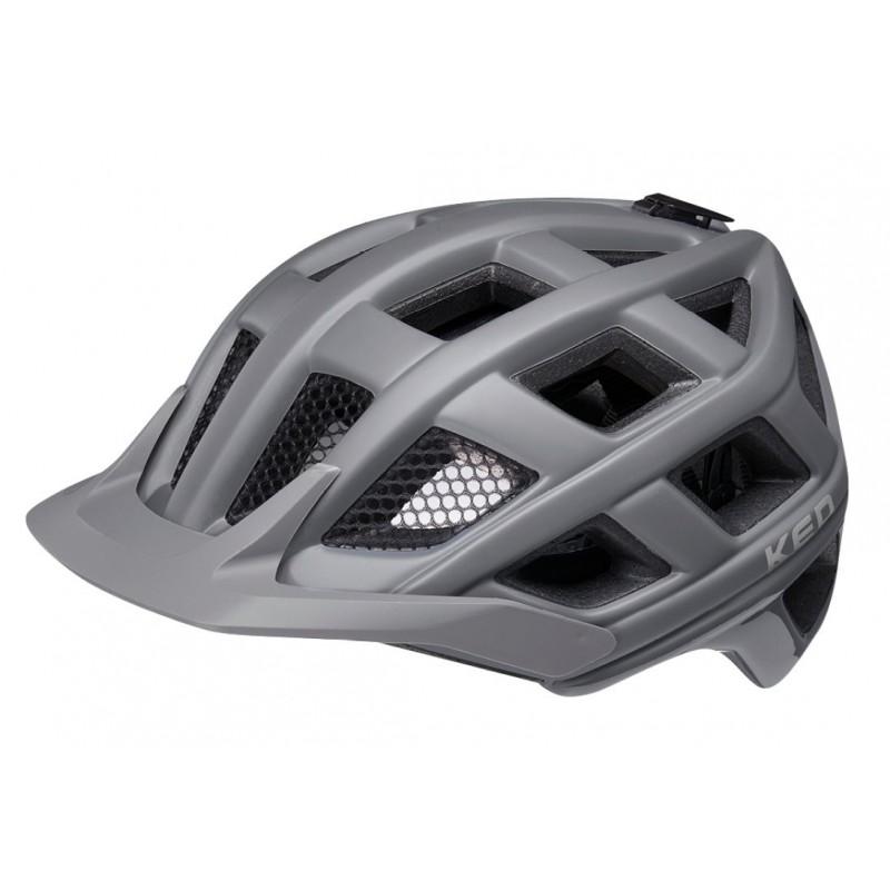 KED Crom MTB Cycling Helmet Dark Grey Matt