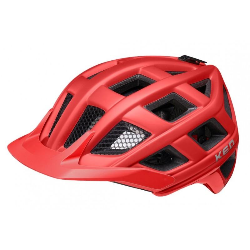 KED Crom MTB Cycling Helmet Merlot Matt