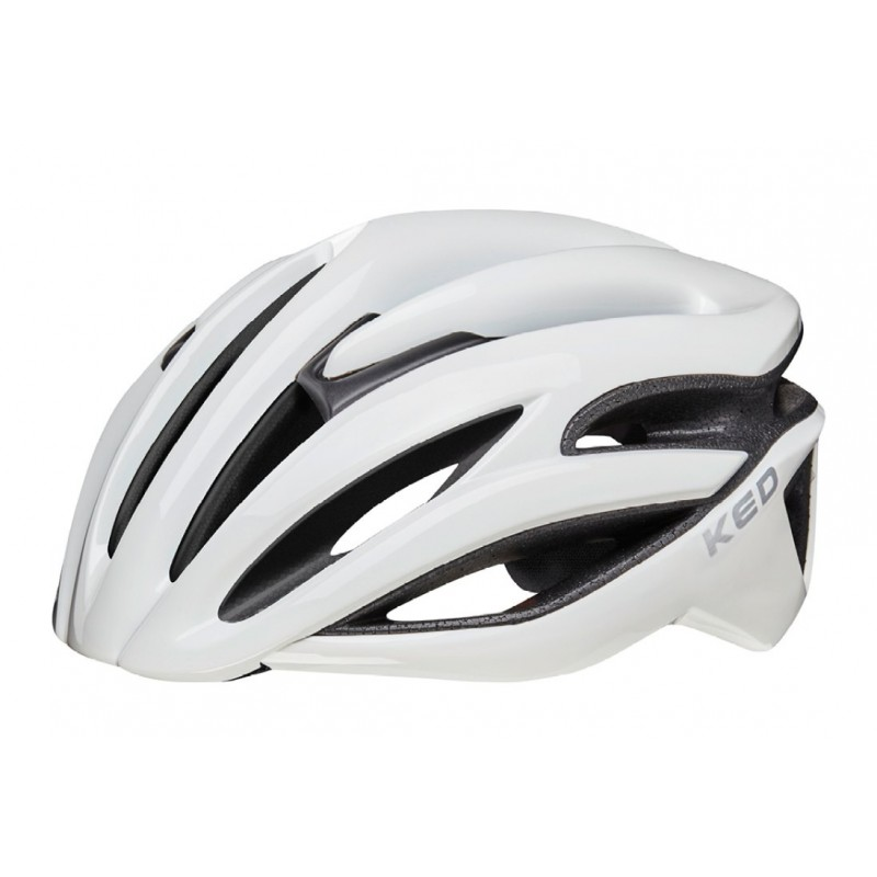 KED Rayzon Road Cycling Helmet White