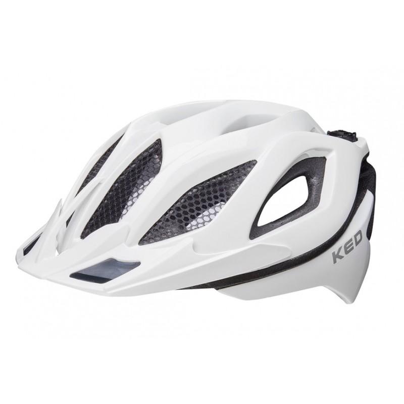 KED Spiri II MTB Cycling Helmet White
