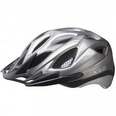 KED Tronus MTB Cycling Helmet Anthracite Silver