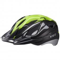 KED Tronus MTB Cycling Helmet Black Green