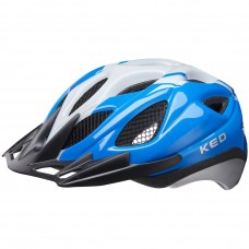 KED Tronus MTB Cycling Helmet Blue Pearl