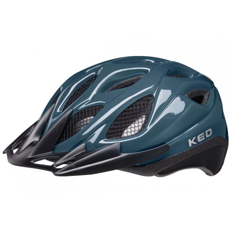 KED Tronus MTB Cycling Helmet Deep Blue