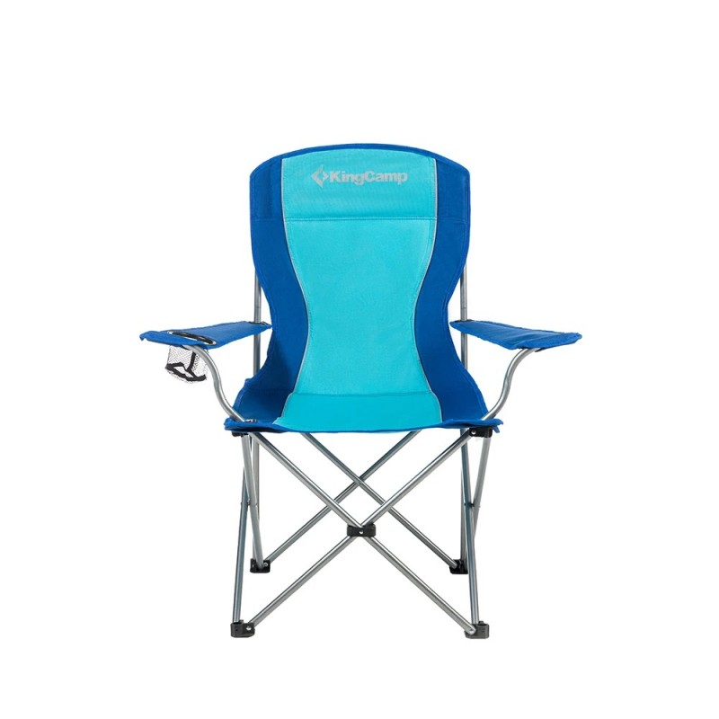 Kingcamp ARM Quad Chair Blue KC3818