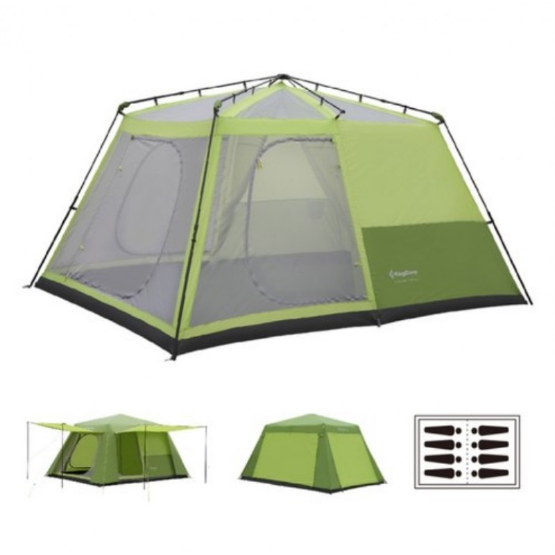 Kingcamp Camp King Family Tent Green KT3098