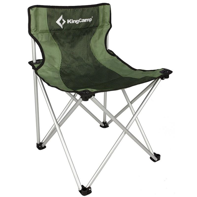 Kingcamp Compact Chair L Green Stripes KC3801