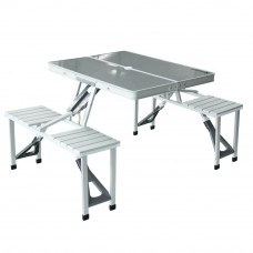 Kingcamp Deluxe Picnic Table/Chair Set KC3864