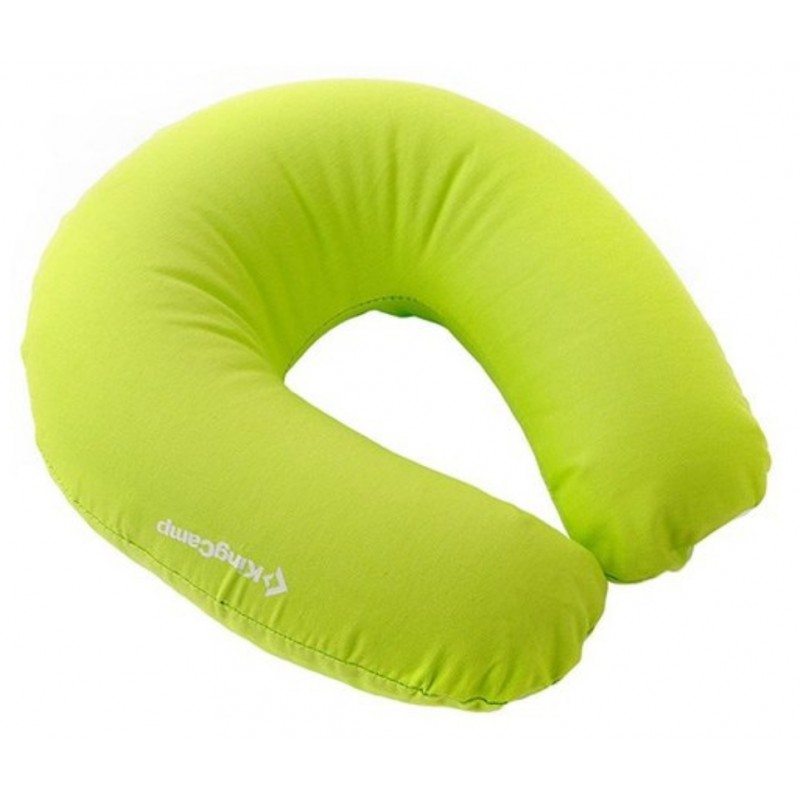 Kingcamp Cotton Neck Pillow Unisex Green KM3563