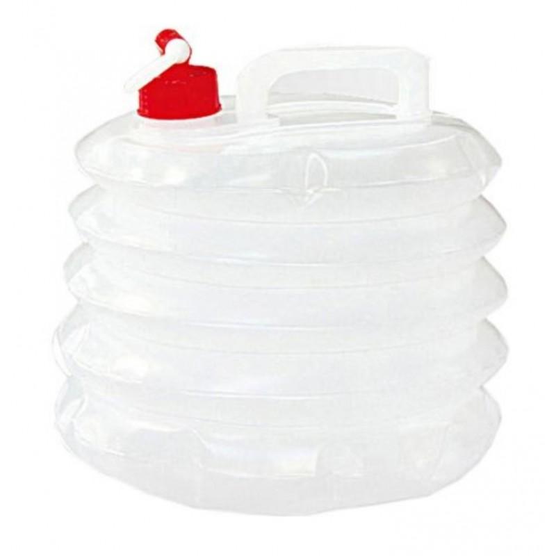 Kingcamp Plastic Water Carrier 8L White/Motley KA3616