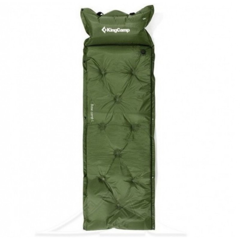 Kingcamp Point Inflatable Mat Green KM3505