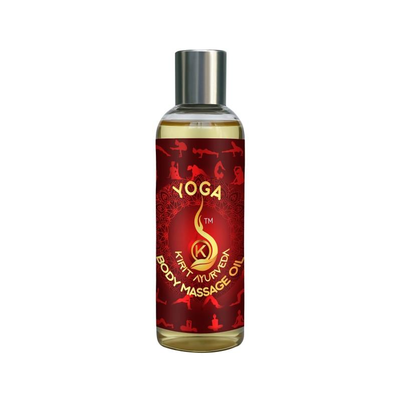 Kirit Ayurveda Yoga Body Massage Oil 100ml