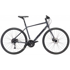 Kona Dew Plus Hybrid Bike 2018 Charcoal