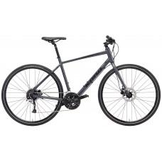 Kona Dew Plus Hybrid Bike 2018 Charcoal