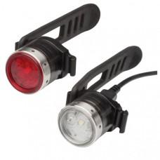 LED Lenser® B2R Mini Front & Rear Bike Light Rechargeable Combo Pack