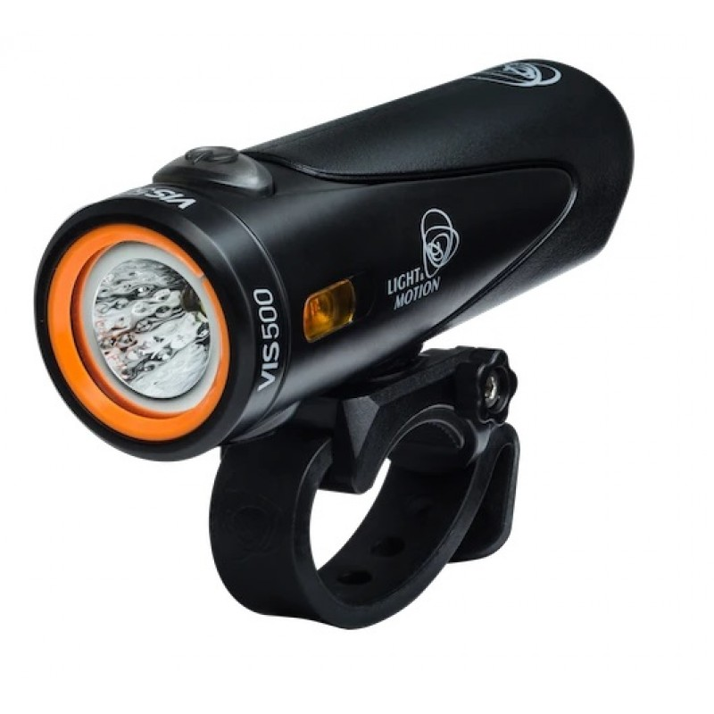 Light & Motion Urban VIS 500 Bike Rechargable Headlight Onyx Black/Black