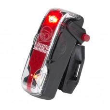 Light & Motion VIS 180 Pro Bike Tail Light Black Raven