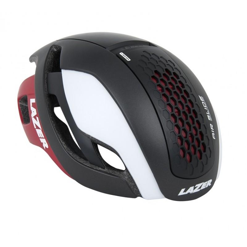 Lazer Bullet Road Bike Helmet White Red 2018