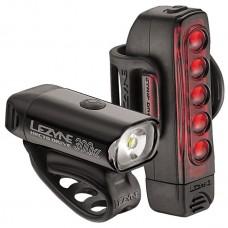 Lezyne Hecto drive 300XL black strip pair bike light