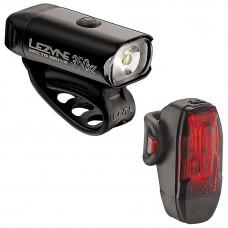 Lezyne Hecto Drive 350 XL / Ktv Drive Cycling Light Pair Black
