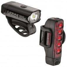Lezyne  Hecto Drive 350 XL / Strip Cycling Light Pair Black