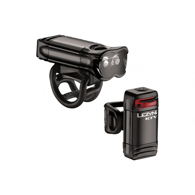 Lezyne KTV Light Pair Black