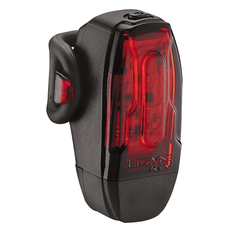 Lezyne KTV  Rear 7 Lumen Light Black