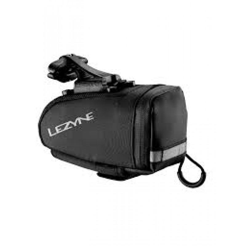 Lezyne Medium Sized Saddle Bag With Qr Mounting System Black