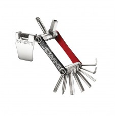 Lezyne V11 Multi Tool Kit Red/Black