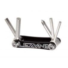Lezyne V5 Multi Tool Kit Black/Nickel