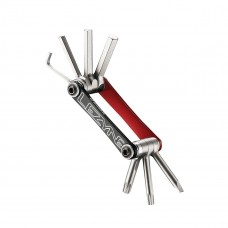Lezyne V7 Multi Tool Kit Red/Black