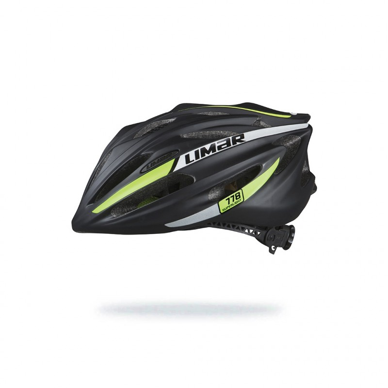 Limar 778 Road Cycling Helmet Reflective Matt Black