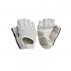 Lizard Skins LA SAL 1.0 Short Finger Gloves White