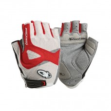 LizardSkins LA SAL 2.0 Short Finger Gloves Red