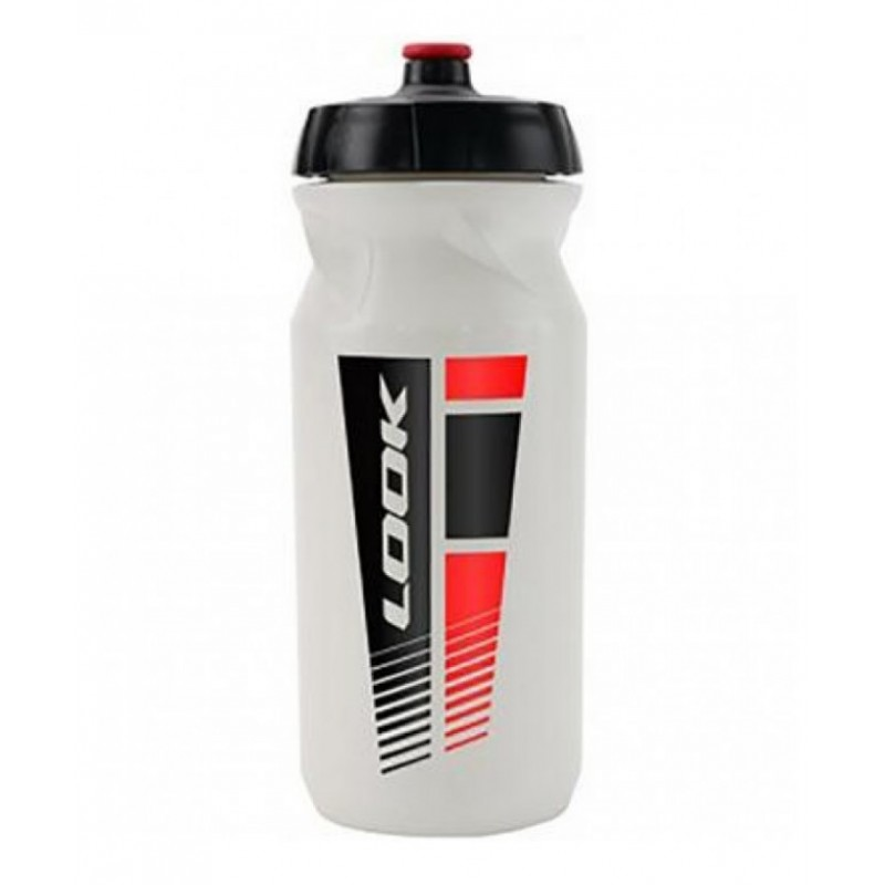 Look Fast Flow Nosel Water Bottle White-650ml