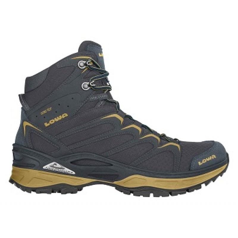 Lowa Innox GTX Mid Trekking Shoe (Steel Blue/Mustard)