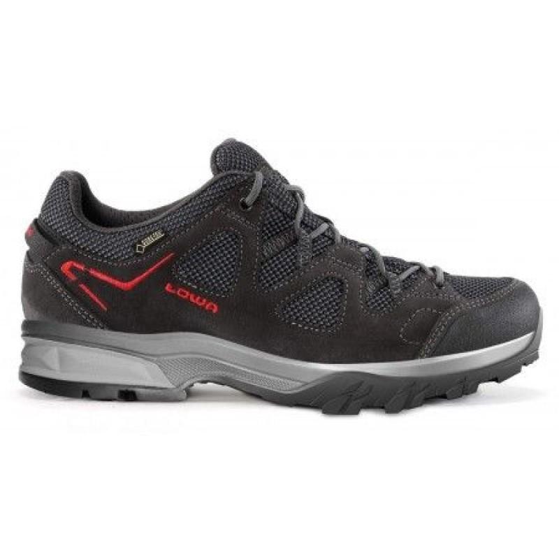 Lowa Phoenix GTX Lo Trekking Shoe (Anthracite/Red)